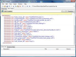 Einfaches Anpassen und Konfigurieren von eDocView durch Konfigurationsparameter im XML-Format.