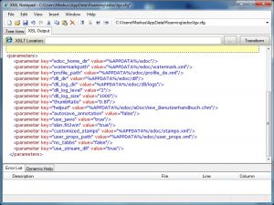 Easily customize and configure eDocView using configuration parameters in XML format.